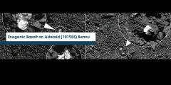 Exogenic Basalt on Asteroid (101955) Bennu
